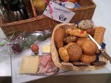 Ontbijtmand de Luxe voor 1 persoon_