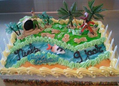 Amerikaanse taart Peter Pan