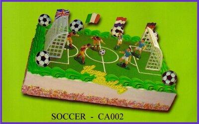 Amerikaanse taart Voetbal CA-002