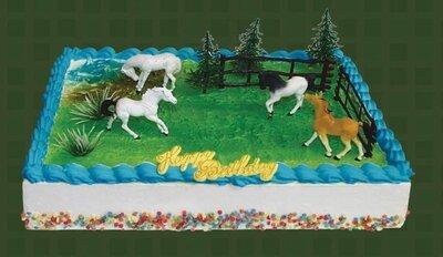 Amerikaanse taart Paarden