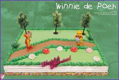 Amerikaanse taart Winnie de Pooh